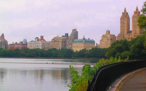 NYC across Central Park.