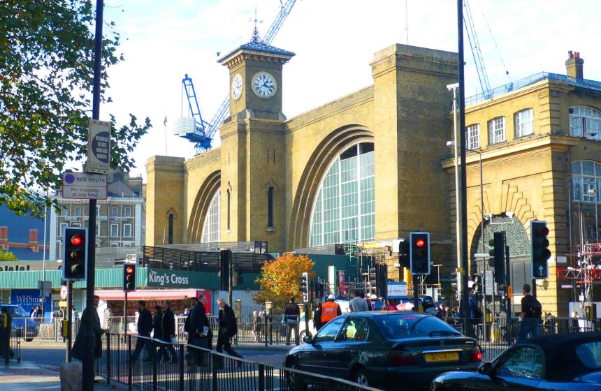 King's Cross Station.