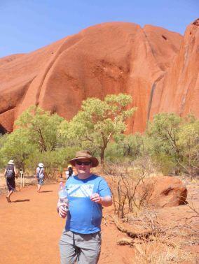 It's me - at Uluru (Ayers' Rock)