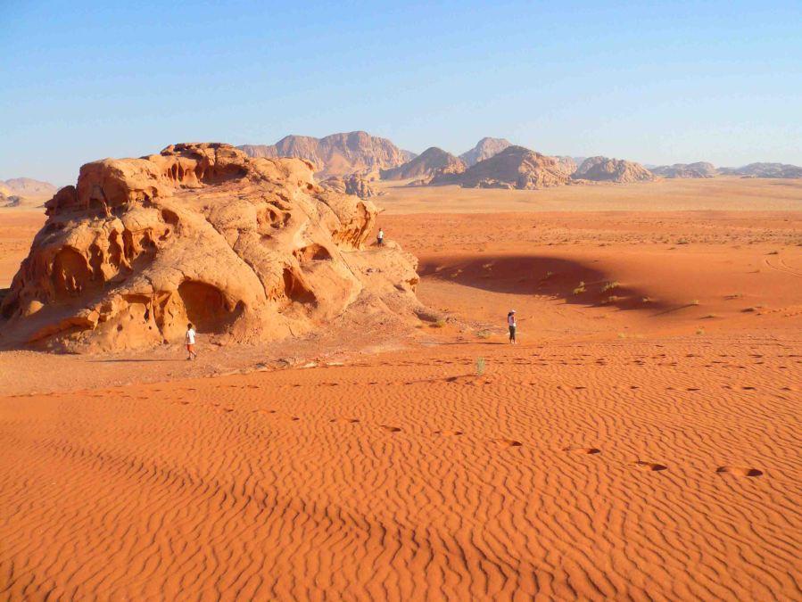 Jordanian desert in