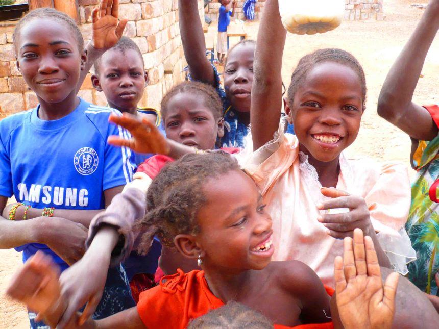 Kids in Mali.