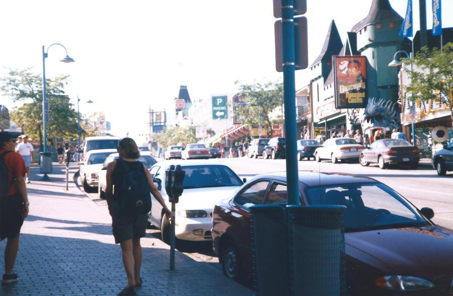 Street leading to Niagara.