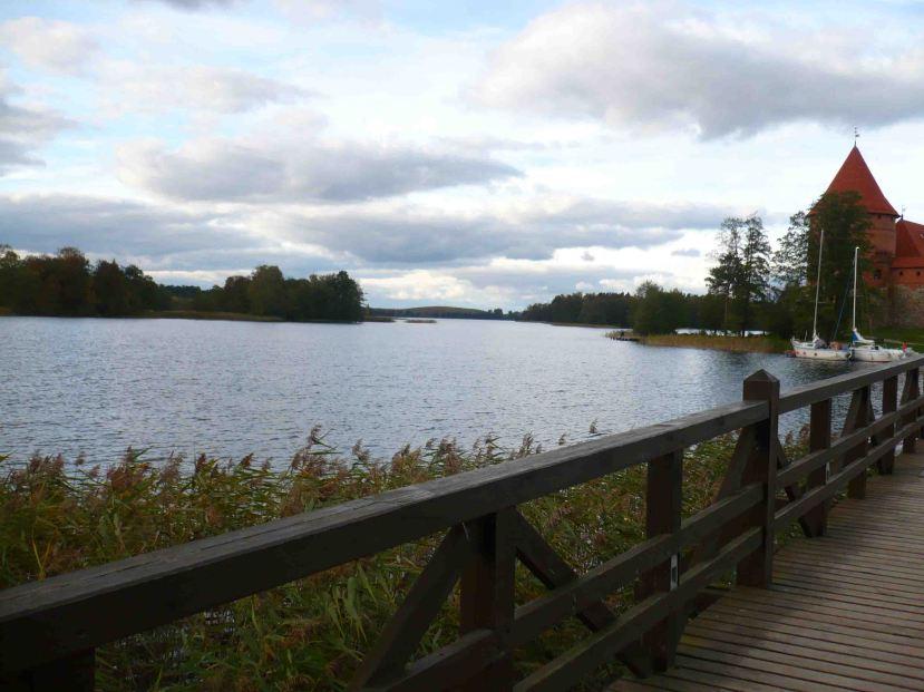 Lake at Trakai.