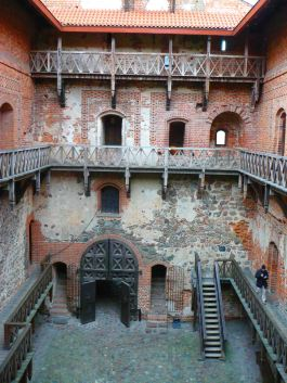 Inside Trakai Castle - great to explore!