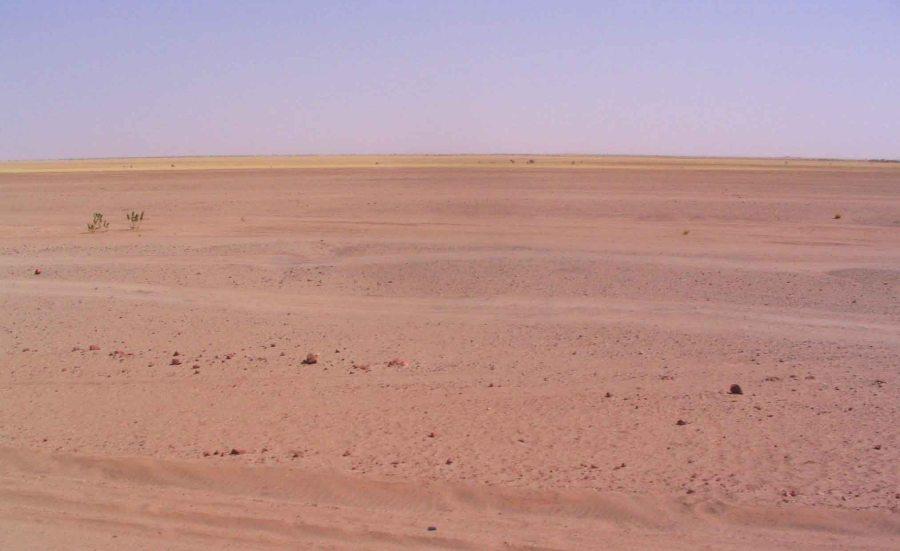 Sahara on the way to Agadez