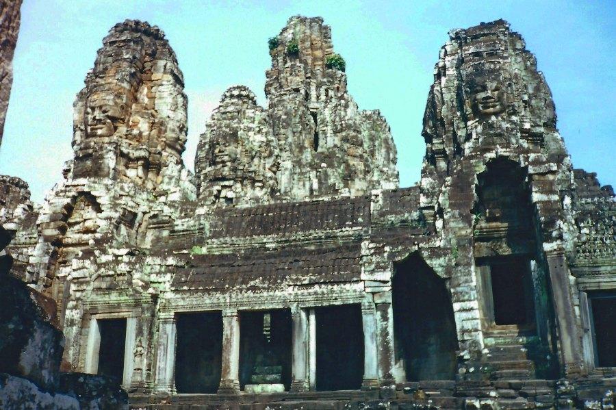 An Angkor temple