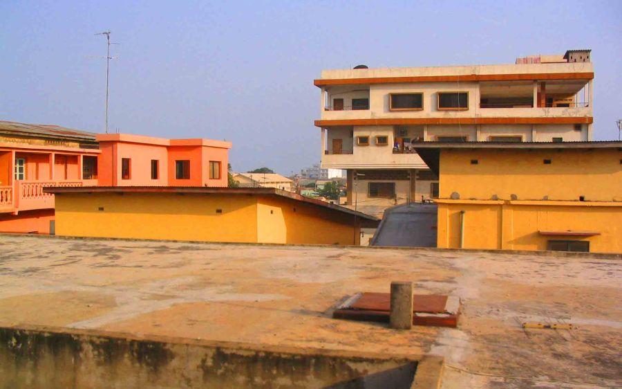 Cotonou rooftops.