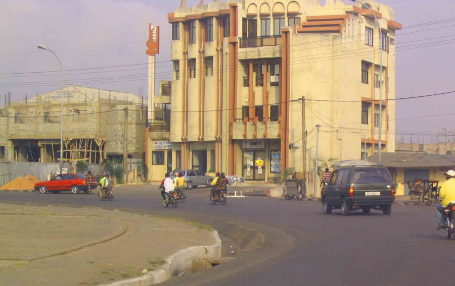 Streets of Cotonou.