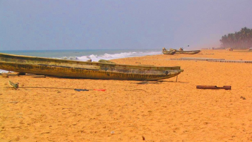 Beach near Ouidah