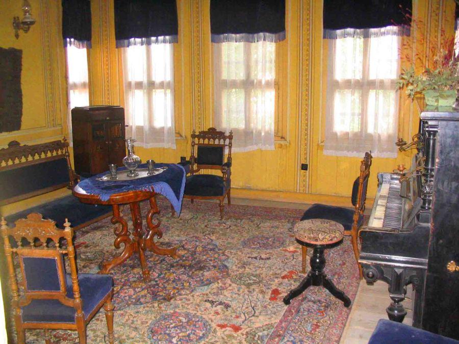 Inside an historic house, Plovdiv