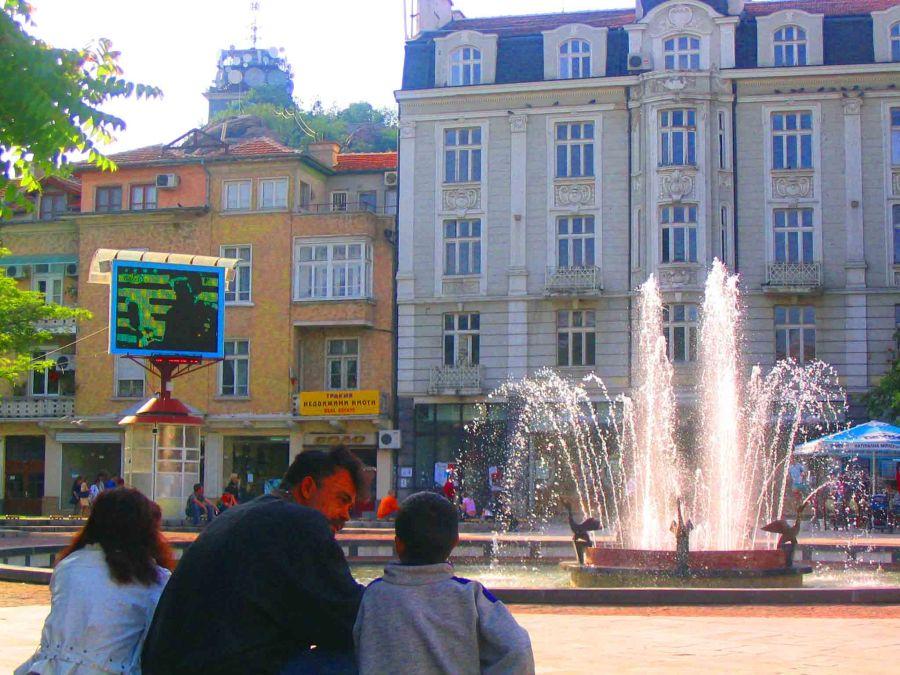 Plovdiv town centre