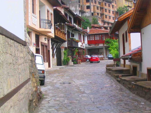 Veliko Tarnovo street.