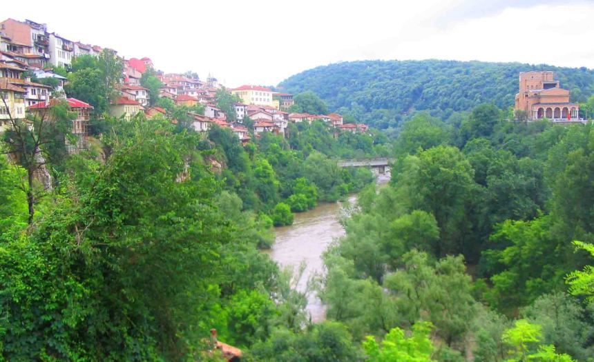 The Yantra River, Veliko Tarnovo