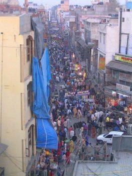 Paraganj - tourist area of Delhi