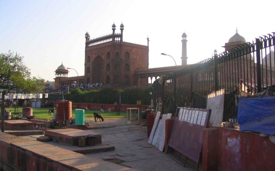 Mosque, Delhi