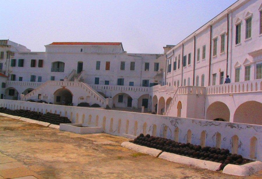 Fort at Cape Coast