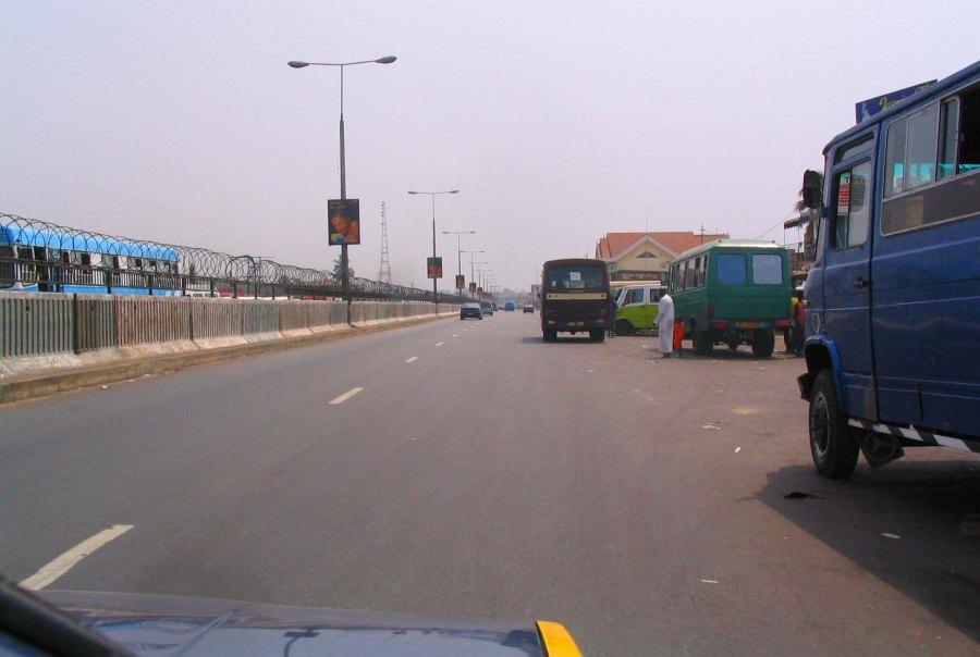 Accra on return.