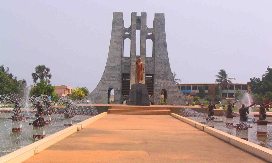 Kwame Nkrumah monument and museum.