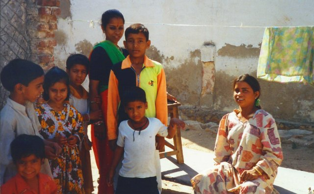 Family of my auto-rickshaw driver.