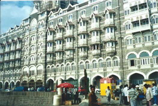 Taj Mahal Hotel, Mumbai. This one NOT for the budget conscious!