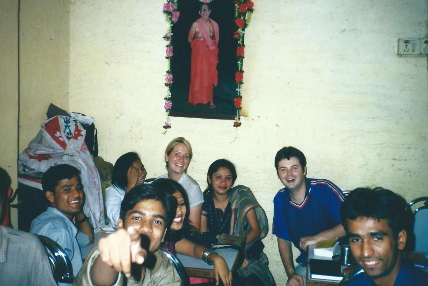 New friends in Mumbai