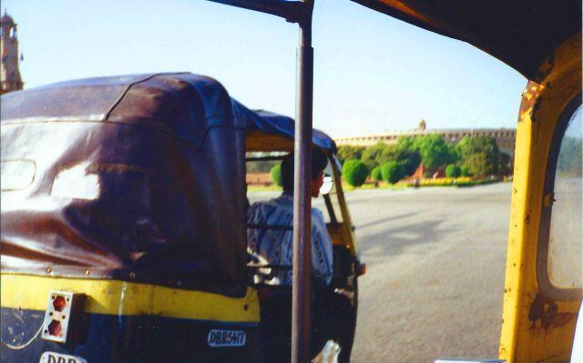 Rickshaw fun in Delhi!