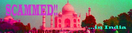 scam India banner