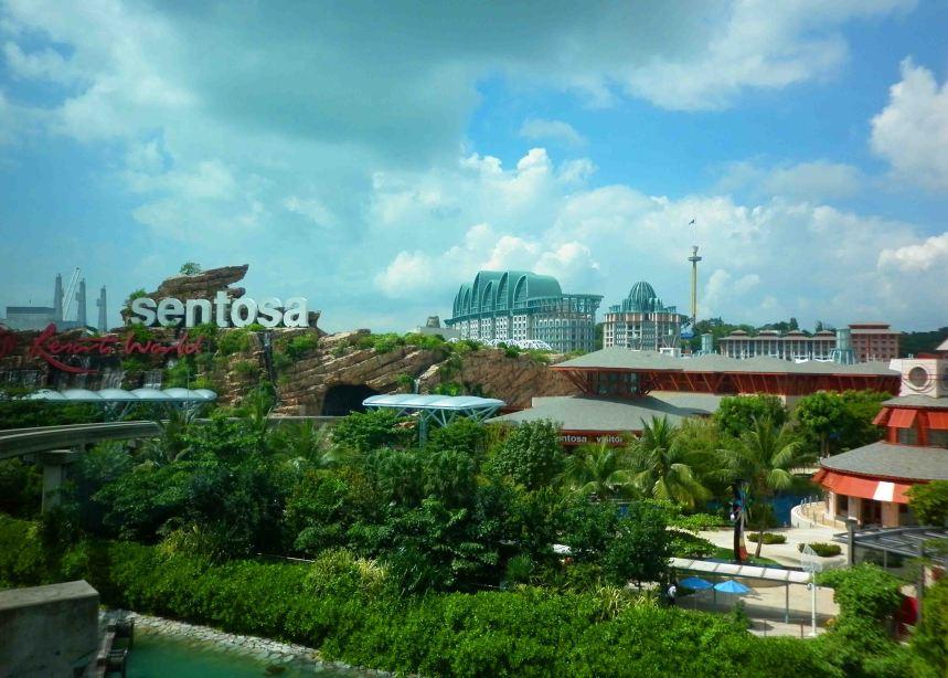 The Island of Sentosa, Singapore.