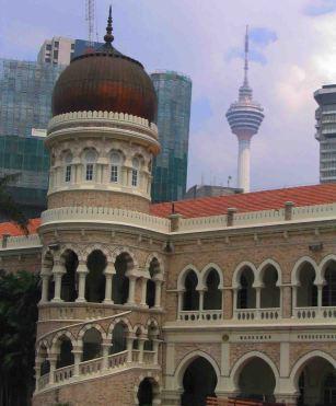 Old and new, Kuala Lumpur