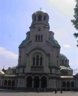 Alexander Nevsky Cathedral - Outside