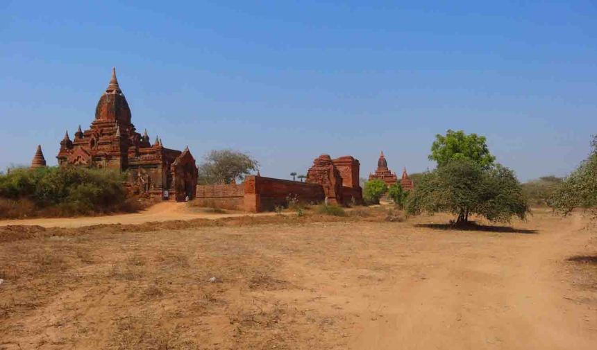 It's pretty dry at Bagan