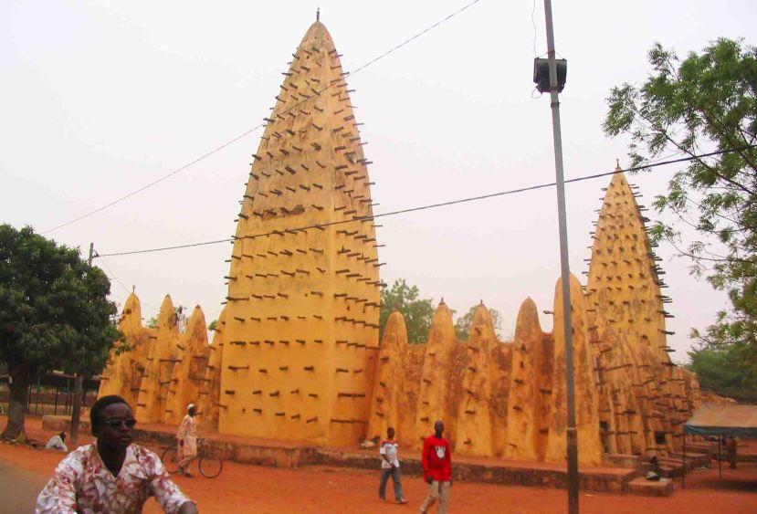 The Grand Mosque at Bobo-Diolosso.