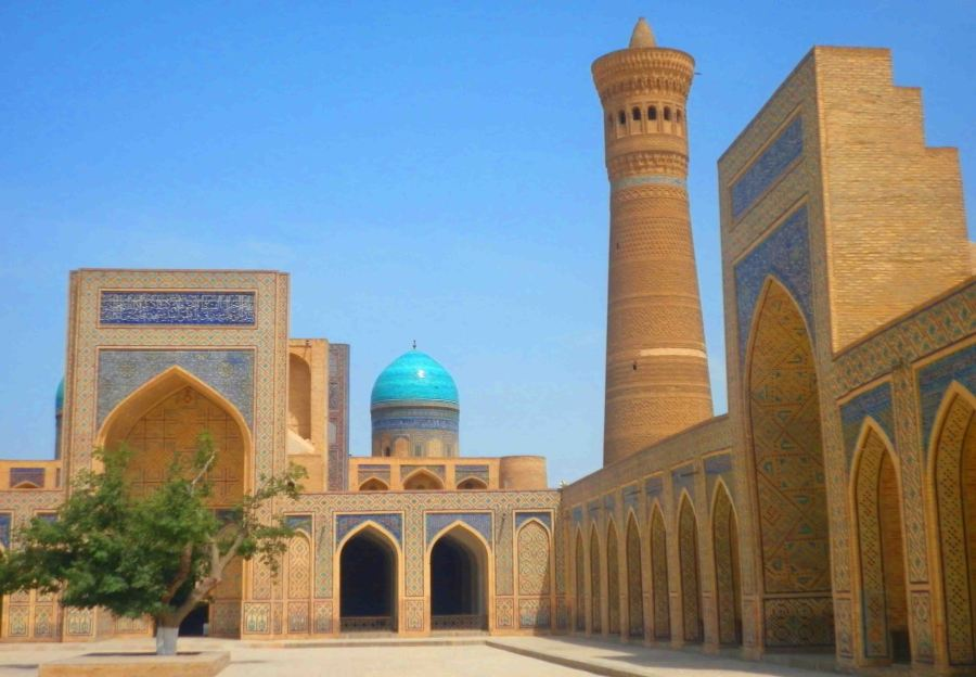 A madrassa in Bukhara.