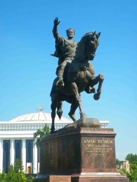 Statue of Timor, Tashkent