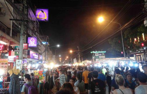 The night market rocking as always!