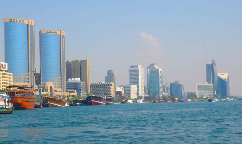 Dubai at perhaps its most attractive.