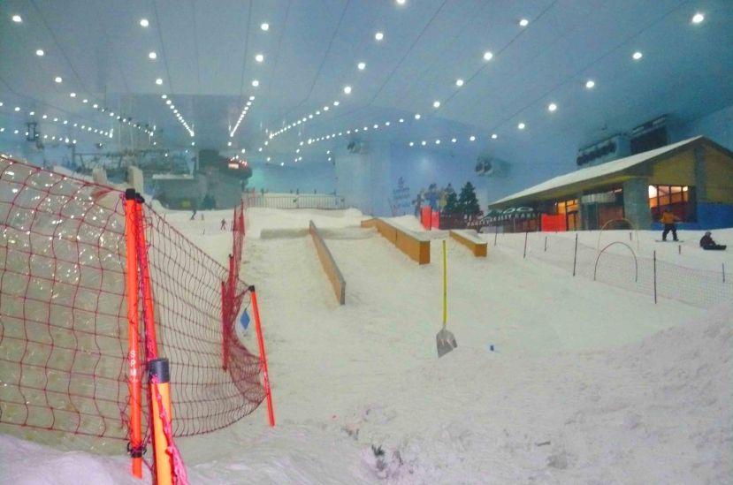 Ski Dubai. Yep, inside a mall!