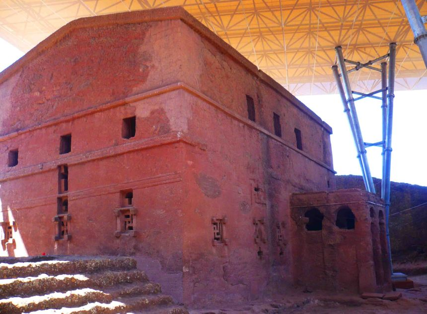 Another of Lalibela's churches.