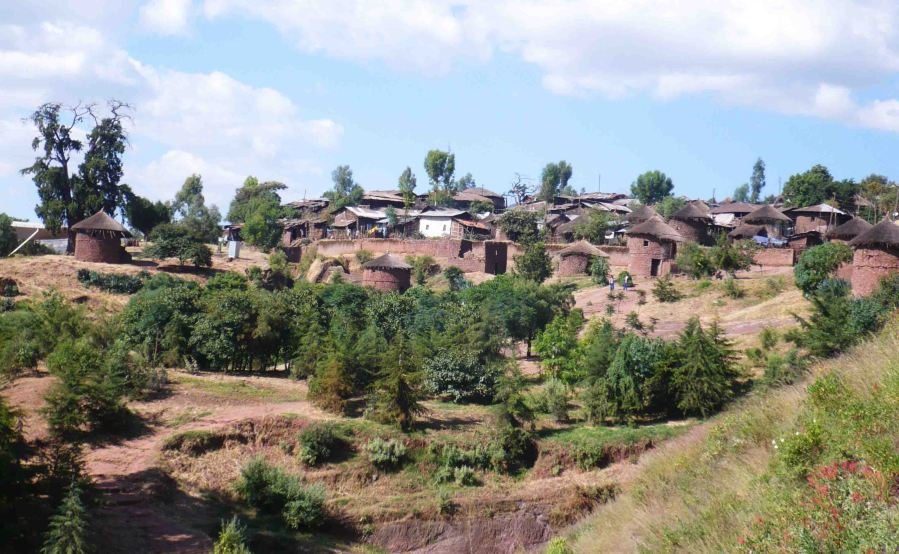Township of Lalibela.