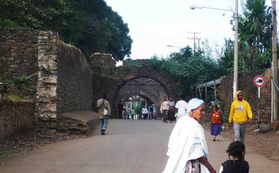 Gondar road