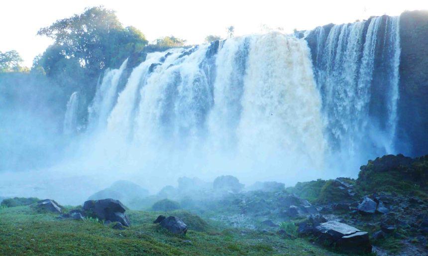 Blue Nile Falls.