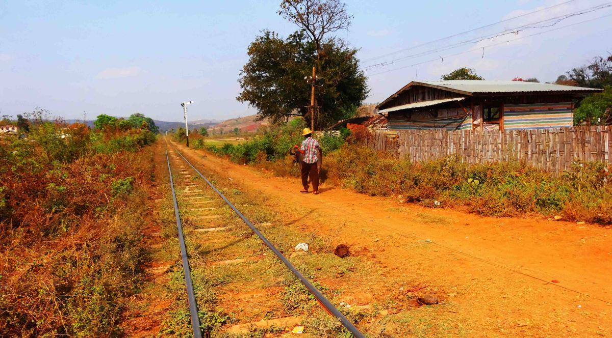 Train Journeys – Pyin Oo Lwin to Nawngpeng