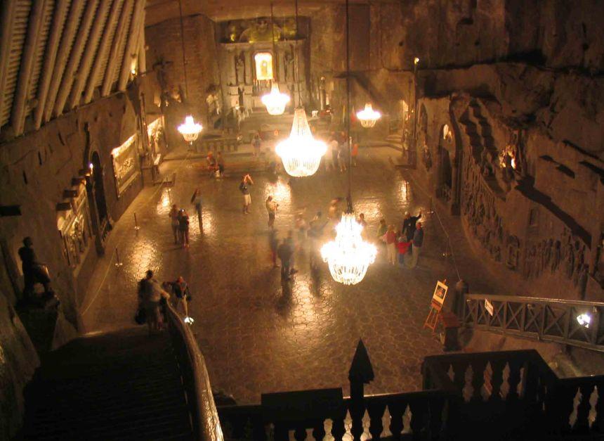 Ballroom in the Salt Mine
