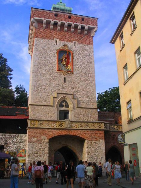 Gate to the castle!