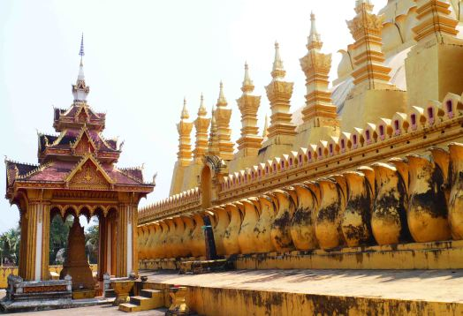 Golden Stupa, Vientiane