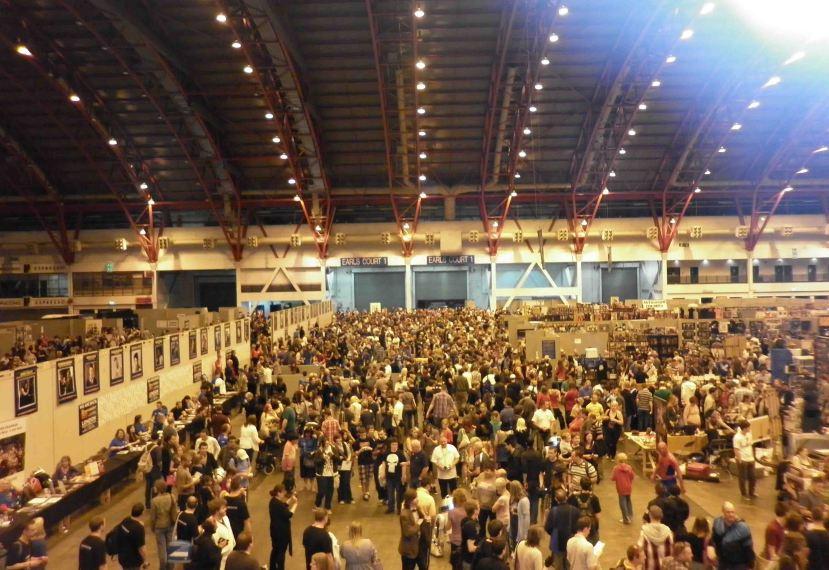 London Film and Comic Con, 2011.