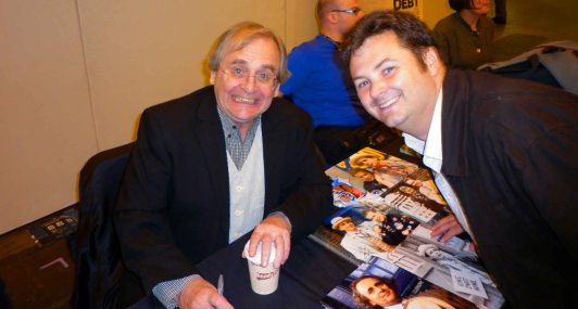 The 7th Doctor, Sylvester McCoy, and I.