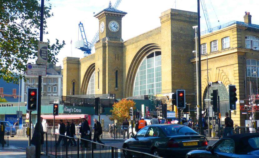 King's Cross Station.