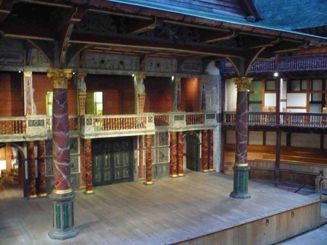 The Globe Theatre.
