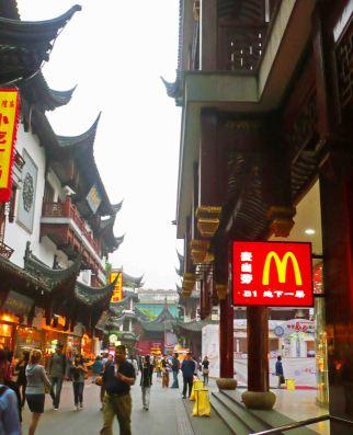 McDonald's in Shanghai.